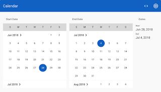 New Calendar Demo